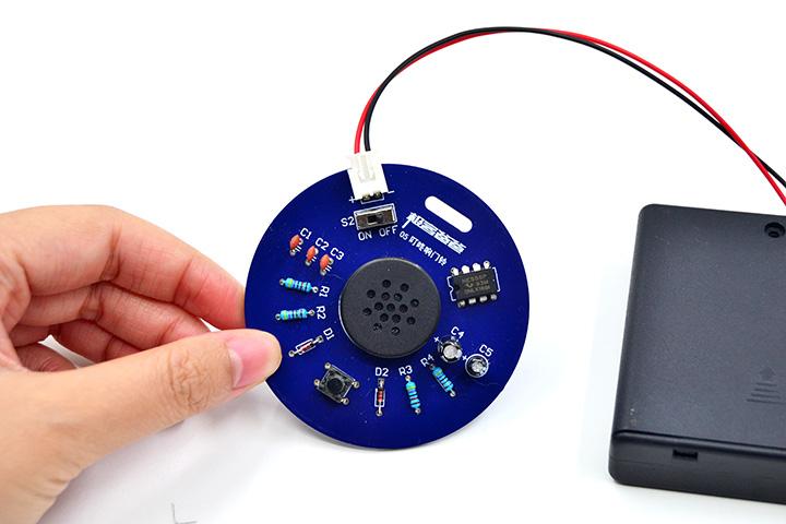 冬天來了,Dòng手不?互動電子制作焊接實訓套件新品發布!