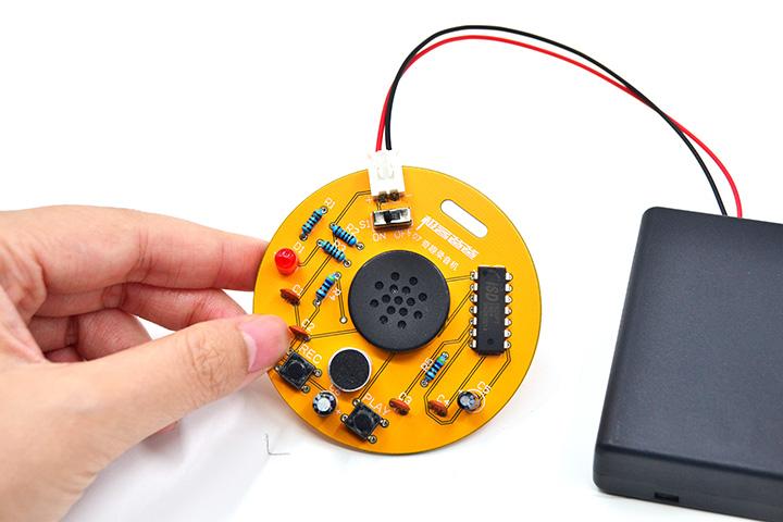 冬天来了,Dòng手不?互动电子制作焊接实训套件新品发布!